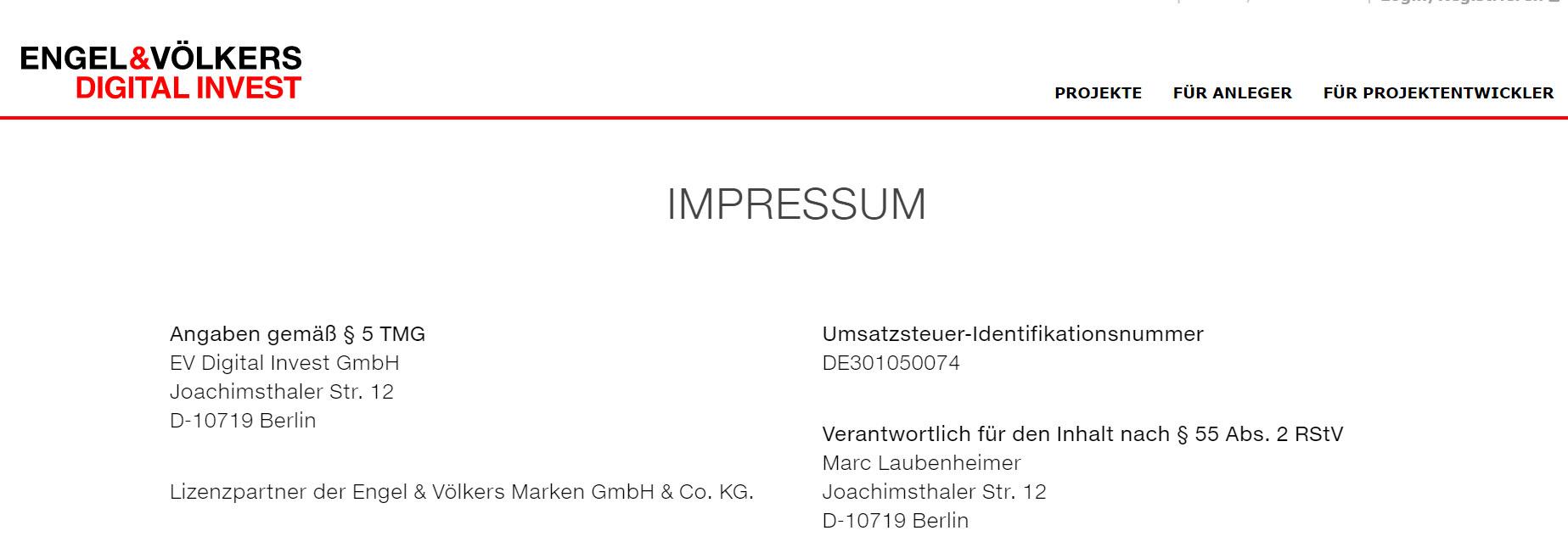 EV Digital Invest GmbH